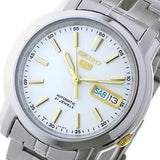 Seiko 5 Classic Men's Size White Dial Stainless Steel Strap Watch SNKL77K1 - Diligence1International