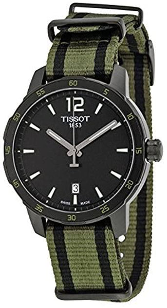 Tissot Swiss Made T-Sport Quickster Men's Nato Strap Watch T0954103705700 - Diligence1International