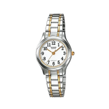 Casio LTP-1275SG-7BDF Two Tone Stainless Steel Strap Watch for Women - Diligence1International