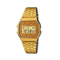 Casio Vintage A159WGEA-9ADFGold Plated Watch for Men and Women - Diligence1International