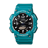 Casio AQ-S810WC-3AVDF Green Solar Powered Watch for Men - Diligence1International