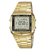 Casio Classic DB360G-9ADF Databank Gold Stainless Steel Watch - Diligence1International