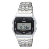 Casio A159WAD-1DF Stainless Steel Resin Strap Watch - Diligence1International
