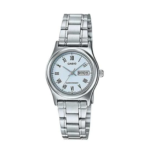 Casio LTP-V006D-2BUDF Stainless Steel Strap Watch for Women - Diligence1International