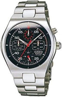 Casio Edifice Retrograde Chronograph Black Dial Men's Stainless Steel Watch EF-311D-1AV - Diligence1International