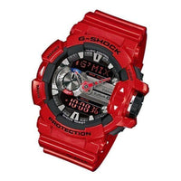 Casio G-Shock G'MIX Mobile Link Bluetooth Anadigi Red x Grey x Black Accents Last Dance Watch GBA400-4ADR - Diligence1International