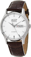 Tissot Swiss Made Heritage Visodate Automatic Silver Dial Men's Leather Strap Watch T0194301603101 - Diligence1International