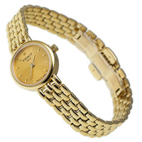 Tissot Swiss Made T-Lady Lovely All Gold Plated Ladies' Watch T0580093302100 - Diligence1International