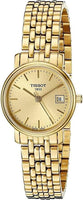 Tissot Swiss Made T-Classic Desire All Gold Plated Ladies' Watch T52.5.281.21