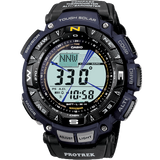Casio Protrek Pathfinder Triple Sensor Digital Men's Blue Strap Watch PRG-240B-2ER - Diligence1International