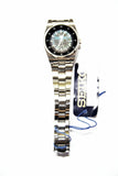 Seiko 5 Classic Ladies Size Ultra Rare Military Time Black Dial Stainless Steel Strap Watch SUAE03K1 - Diligence1International