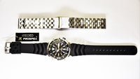 Seiko Prospex Yellow Fin Baby Tuna Rubber+Engineer Type II 316L S/S Strap Set Men's Watch SRP639K1 - Diligence1International
