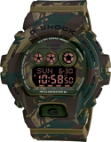Casio G-Shock Military Standard Digital Camo Green Watch SAFC Jammer GDX6900MC-3DR - Diligence1International
