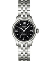 Tissot Swiss Made T-Classic Le Locle Automatic Small Stainless Steel Ladies' Watch T41118353 - Diligence1International