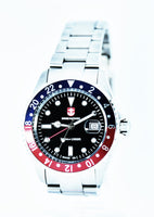 Swiss Mariner GMT Series Men's Watch SG8295R09A-SSRUBK - Diligence1International