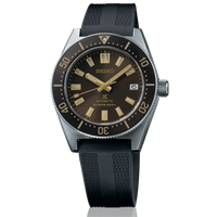 Seiko Japan Made 62MAS Prospex Diver's Brown Dial Men's Rubber Strap Watch SPB147J1 - Diligence1International