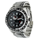Seiko Superior 100M Men's Black Dial Stainless Steel Strap Watch SSA095K1 - Diligence1International