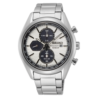 Seiko Prospex Solar Men's Stainless Steel Chronograph Watch SSC769P1 Panda - Diligence1International