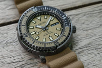 "Seiko Prospex Men's Urban Safari ""Desert Beige"" Baby Tuna Watch SRPE29K1 - Diligence1International"