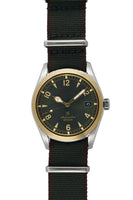 Seiko Japan Made Prospex Baby Alpinist Green Gold Bezel Junior Men's Nylon Strap Watch SPB212J1 - Diligence1International