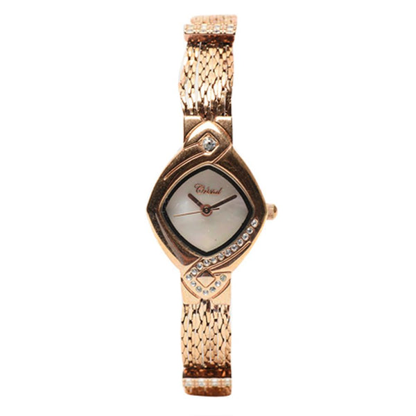 Cristal Ladies' Rose Gold Plated Watch HG3636-RGMP - Diligence1International