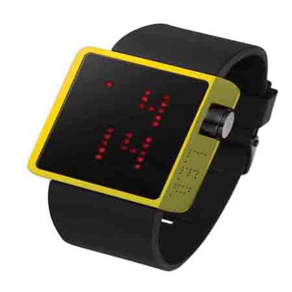 Life Evolution Design Unisex LED Watch L70-01YRD-BSL - Diligence1International