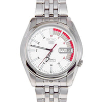Seiko 5 Classic Men's Size White Dial Stainless Steel Strap Watch SNK369K1 - Diligence1International