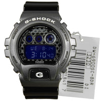 Casio G-Shock Sports Digital Crazy Colors Silver x Black Watch DW6900SC-8DR - Diligence1International