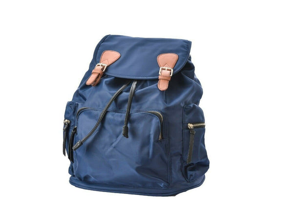 Clothing, Shoes & Accessories:Women:Women's Bags & Handbags - Kuru Kuru クールクール Discovery Backpack Bag Blue Nylon D-81023