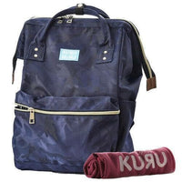 Clothing, Shoes & Accessories:Women:Women's Bags & Handbags - Kuru Kuru クールクール Vitality Medium Backpack Bag + FREE Sports Cooling Towel