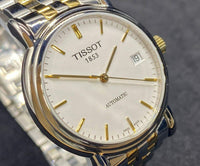 Tissot Swiss Made T-Classic Carson Automatic 2 Tone Gold Plated Men's Watch T95.2.483.31 - Diligence1International