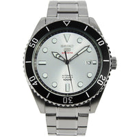 Seiko 5 Sports JAPAN Made 100M Automatic Men's Watch Silver Dial SRPB87J1 - Diligence1International