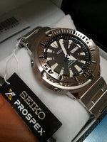 Seiko Black Monster Baby Tuna Prospex Men's Stainless Steel Watch SRP637K1 - Diligence1International