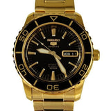 Seiko 5 Sports Gold Plated 55 Fathoms Men's Watch SNZH60K1