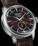 Seiko JAPAN Made Presage Cocktail w/ Pow. Res. Indicator Black Cat Martini Men's Watch SSA393J1 - Diligence1International