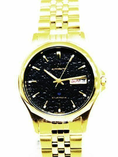 Jewelry & Watches:Watches, Parts & Accessories:Wristwatches - Citizen Classic Automatic Men's Gold Stainless Strap Watch NH3942-65E