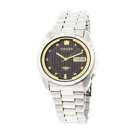 Jewelry & Watches:Watches, Parts & Accessories:Wristwatches - Citizen Classic Automatic Men's Stainless Strap Watch NH3710-52E