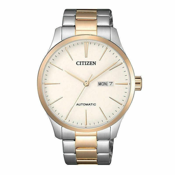Jewelry & Watches:Watches, Parts & Accessories:Wristwatches - Citizen Luxury Men's Two Tone Rose Gold Stainless Steel Strap Watch NH8356-87A