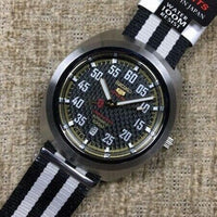 Jewelry & Watches:Watches, Parts & Accessories:Wristwatches - Seiko 5 Sports Carbon Fiber Dial Limited Edition Turtle Watch SRPA93K1