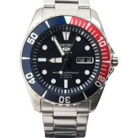 Jewelry & Watches:Watches, Parts & Accessories:Wristwatches - Seiko 5 Sports JAPAN Made Pepsi Sea Urchin Automatic Men's Watch SNZF15J1