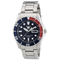 Jewelry & Watches:Watches, Parts & Accessories:Wristwatches - Seiko 5 Sports Pepsi Sea Urchin Automatic Men's Watch SNZF15K1