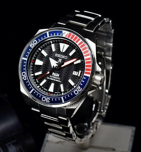 Jewelry & Watches:Watches, Parts & Accessories:Wristwatches - Seiko JAPAN Made SE PADI Samurai Divers 200M Diver's Men's Watch SRPB99J1
