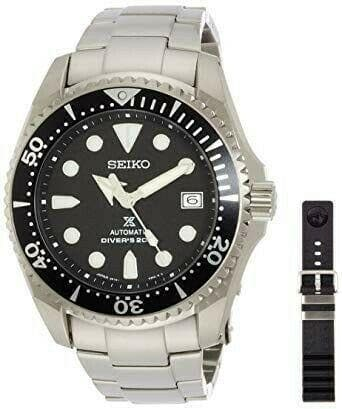 Jewelry & Watches:Watches, Parts & Accessories:Wristwatches - Seiko JDM Prospex Black Shogun Men's Titanium Watch SBDC029
