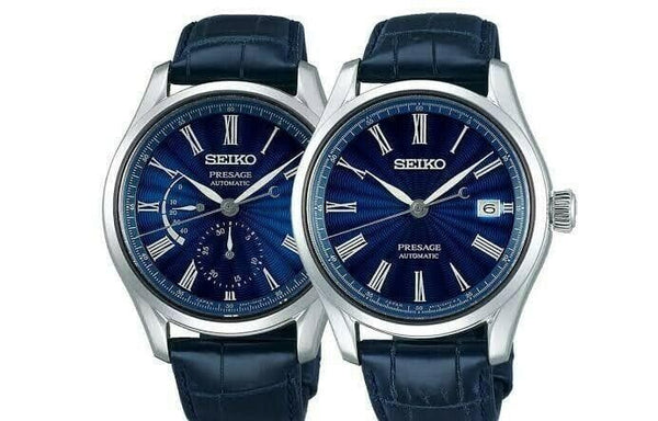 Jewelry & Watches:Watches, Parts & Accessories:Wristwatches - Seiko Limited Edition Presage Shippo Enamel Watches SPB073J1 + SPB075J1 Set