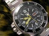 Jewelry & Watches:Watches, Parts & Accessories:Wristwatches - Seiko Map Meter Black Atlas/Land Shark 200M Men's Watch SKZ211K1