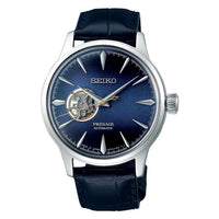 Jewelry & Watches:Watches, Parts & Accessories:Wristwatches - Seiko Presage Blue Moon Open Heart Couple's Watch Set SSA405J1 + SSA785J1