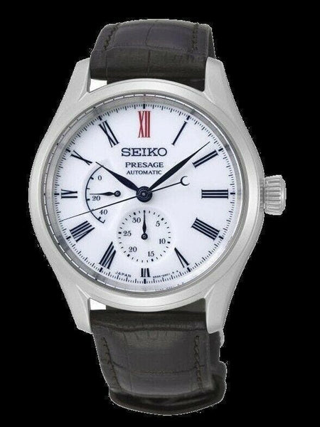 Jewelry & Watches:Watches, Parts & Accessories:Wristwatches - Seiko Presage Power Reserve Ind Arita Porcelain Dial White Men's Watch SPB093J1