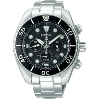 Jewelry & Watches:Watches, Parts & Accessories:Wristwatches - Seiko Prospex Sumo Solar Chronograph Black Men's Watch SSC757J1