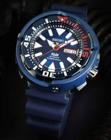 Jewelry & Watches:Watches, Parts & Accessories:Wristwatches - Seiko SE PADI Blue Ceramic Shroud Tuna  200M Diver's Men's Watch SRPA83J1