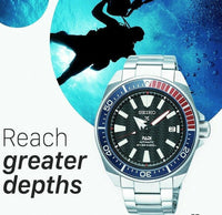 Jewelry & Watches:Watches, Parts & Accessories:Wristwatches - Seiko SE PADI Samurai Divers 200M Diver's Men's Watch SRPB99K1